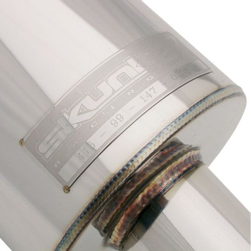 Skunk2 06-11 Civic Si Coupe MegaPower R Cat-Back Exhaust-A2