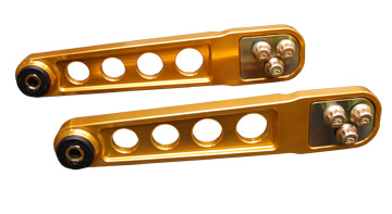 Skunk2 Rear Lower Control Arms: Gold Anodized