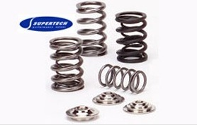 Supertech Dual Valve Spring & Retainer Combo: 80 psi