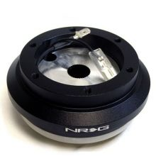 NRG 02-06 RSX / 96-00 Civic Black Non-SRS 6 Hole Steering Wheel Short Hub Adapter