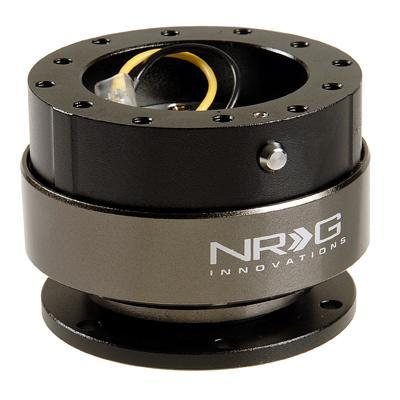 NRG 2.0 Quick Release: Black Body with Titanium Ring