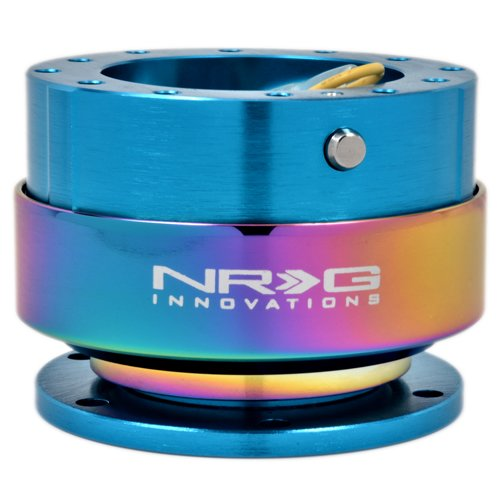 NRG 2.0 Quick Release:  New Blue Body/Neo-Chrome Ring