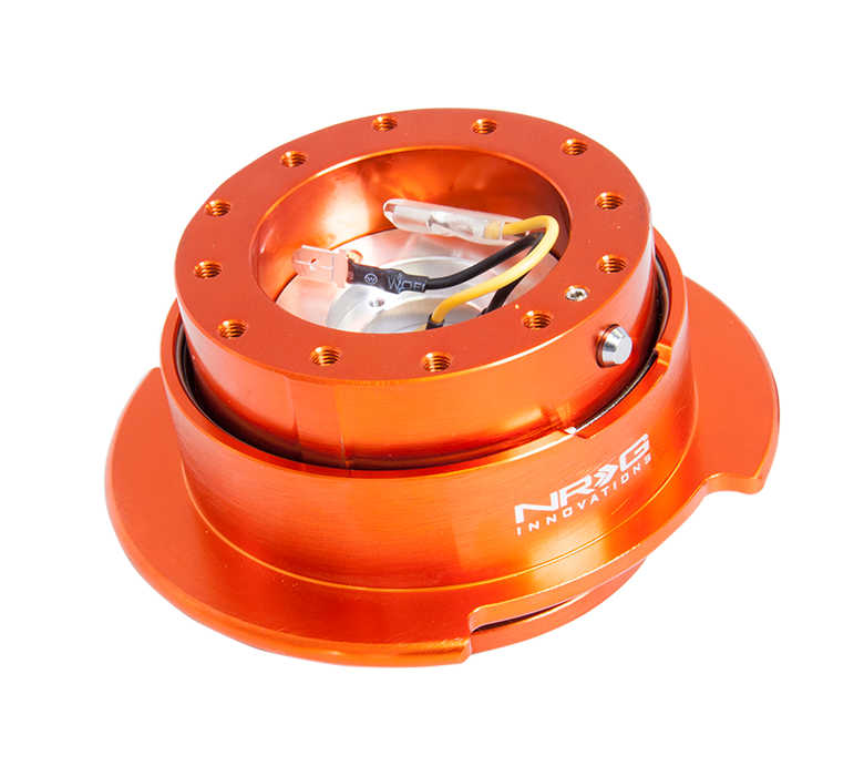 NRG Orange Body with Orange Ring 2.5 Quick Release