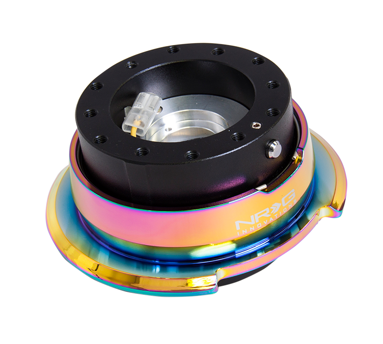 NRG 2.8 Quick Release: Black Body with Neochrome Ring