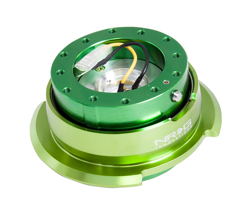 NRG Green Body with Green ring 2.8 Quick Release