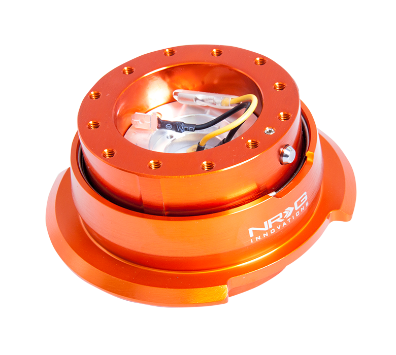 NRG Orange Body with Orange Ring 2.8 Quick Release