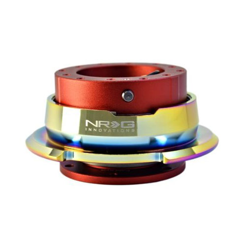 NRG Red Body Neochrome Ring 2.8 Quick Release