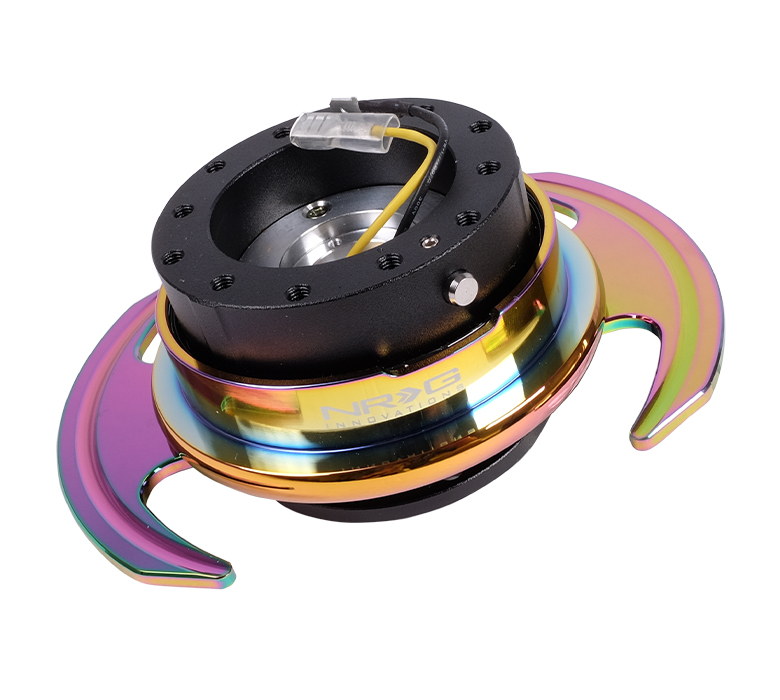 NRG 3.0 Quick Release: Black Body with Neochrome Ring