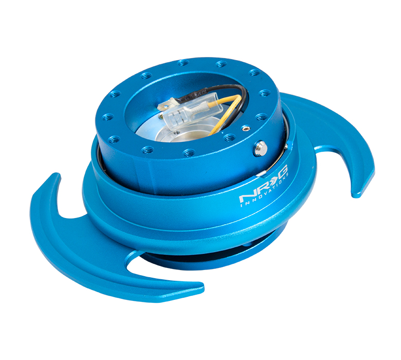 NRG 3.0 Quick Release: Blue Body with Blue Ring
