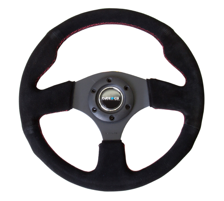 NRG Sport 320mm Suede  Steering Wheel
