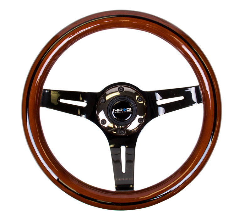 NRG Classic Dark 310mm Woodgrain Steering Wheel