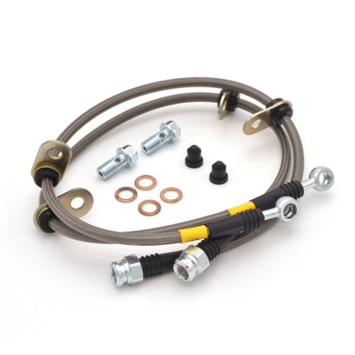 REAR STAINLESS STEEL BRAKE LINE KIT FOR 02-06 ACURA RSX FRONT STOPTECH