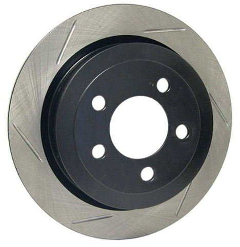 StopTech Slotted Rear Rotor: Driver/Left