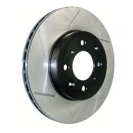 StopTech Cyrotreated Slotted Front Rotor: Passenger/Right