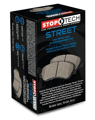 StopTech Street Touring Brake Pads: Front