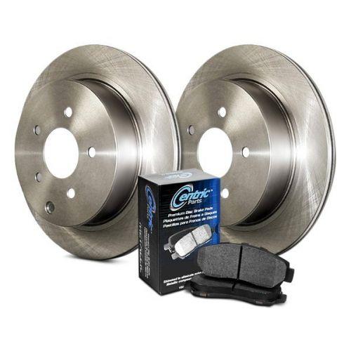 Rotors w//Ceramic Pads OE Brakes 2003-2011 Element 2004-2008 TL Rear