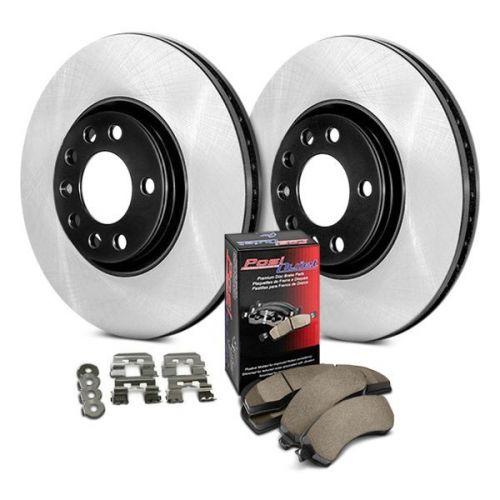 Rear Brake Rotors /& Metallic Pads For 2008 2009 2010 HONDA ACCORD 2009 2010 TSX