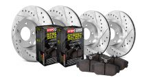 StopTech 12-15 Civic Si Select Sport Drilled/Slotted Complete Brake Kit