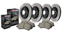 StopTech 02-06 RSX Base Street Slotted Complete Brake Kit