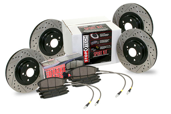 StopTech 02-06 RSX Type-S Sport Kit: Drilled and Slotted Rotors