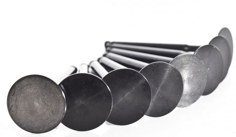 Supertech 35.5mm Flat Intake Valves: 8 Pack