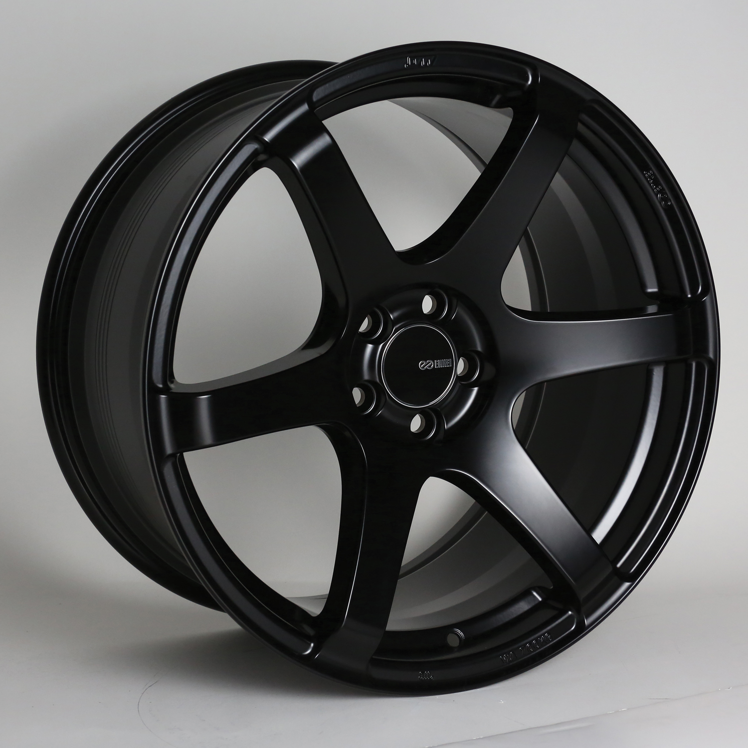 Enkei T6S Black Wheel: 17x8 +40