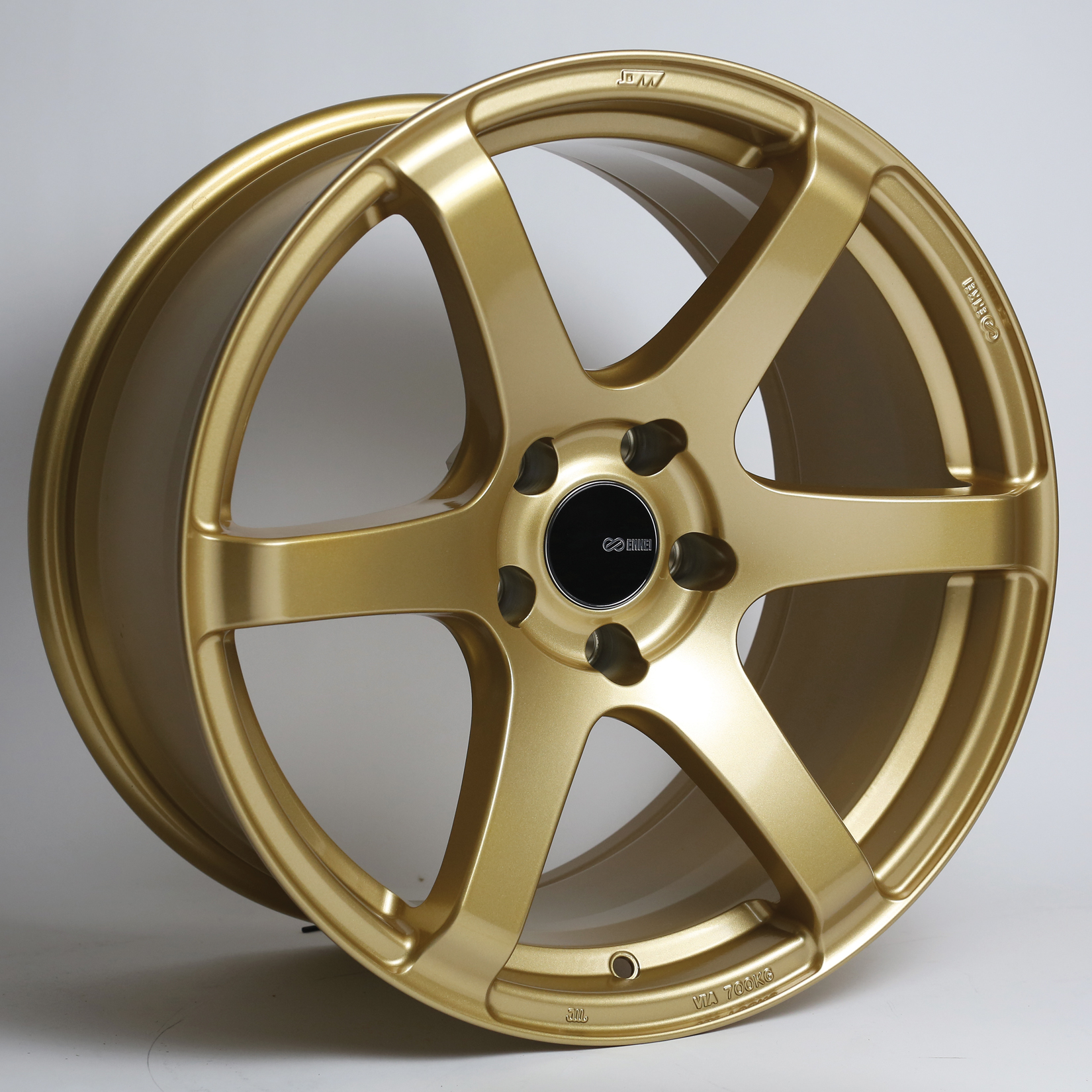 Enkei T6S Gold Wheel: 18x9.5 +45-A1