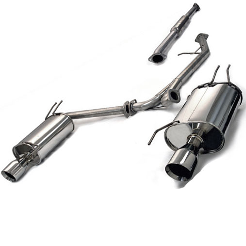 Tanabe 03-05 Accord Coupe V6 Medallion Touring Catback Exhaust