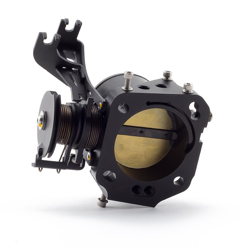 Hybrid Racing 70mm K-Series Throttle Body: Black