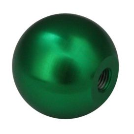 Torque Solution Billet Shift Knob: Green: M10 x 1.5