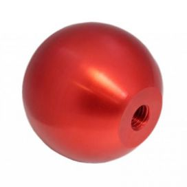 Torque Solution Billet Shift Knob: Red: M10 x 1.5