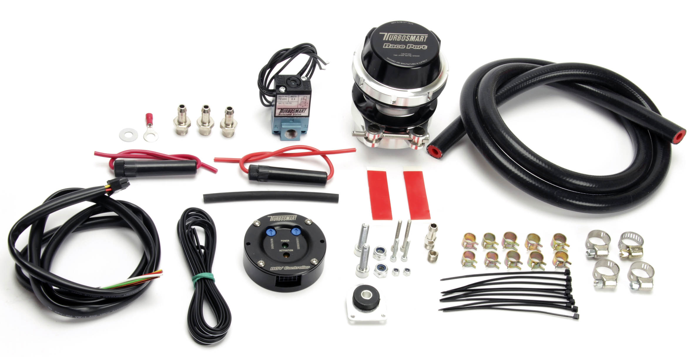 TurboSmart Blow Off Valve Controller Kit: Black