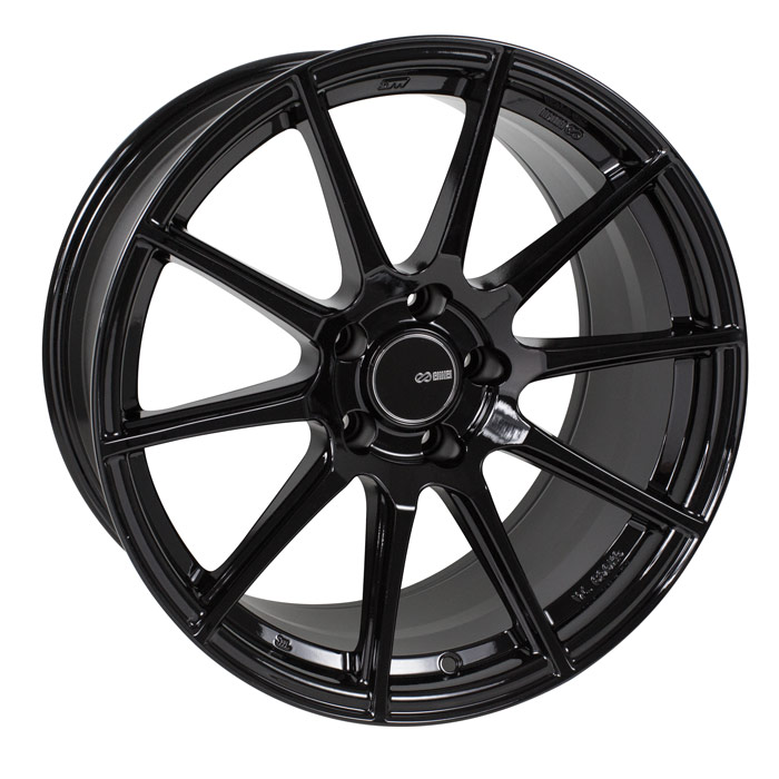 Enkei TS10 Black Wheel: 17x8 +45