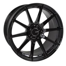 Enkei TS10 Black Wheel: 17x8 5x114.3 45mm Offset 72.6mm Bore