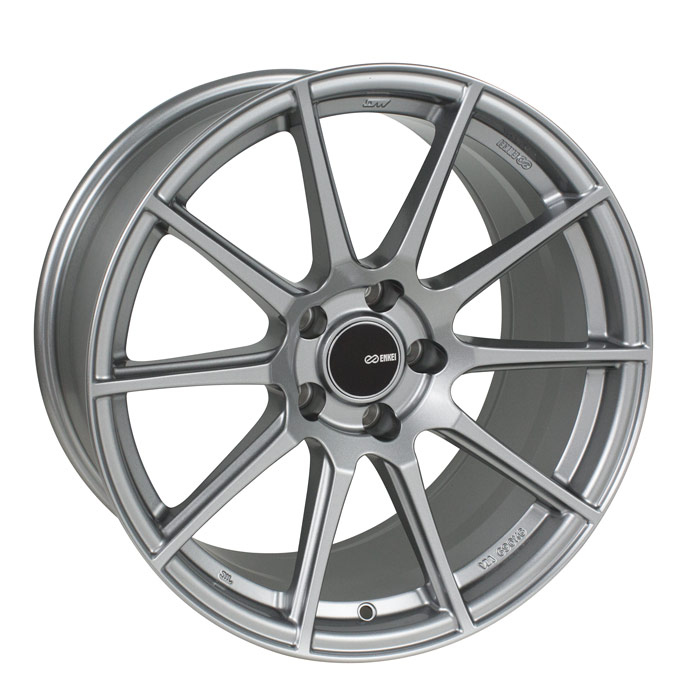 Enkei TS10 Matte Grey Wheel: 18x8 +45