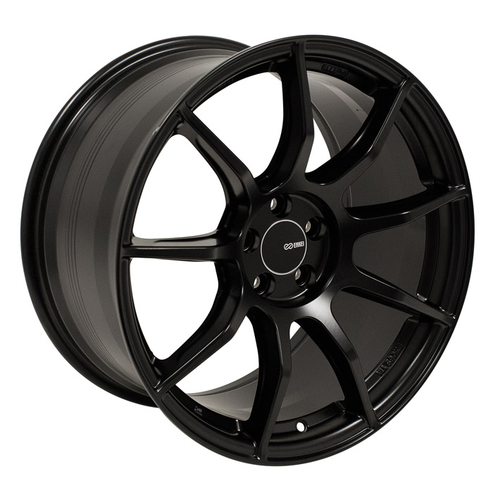 Enkei TS9 Black Wheel: 18x8 +45