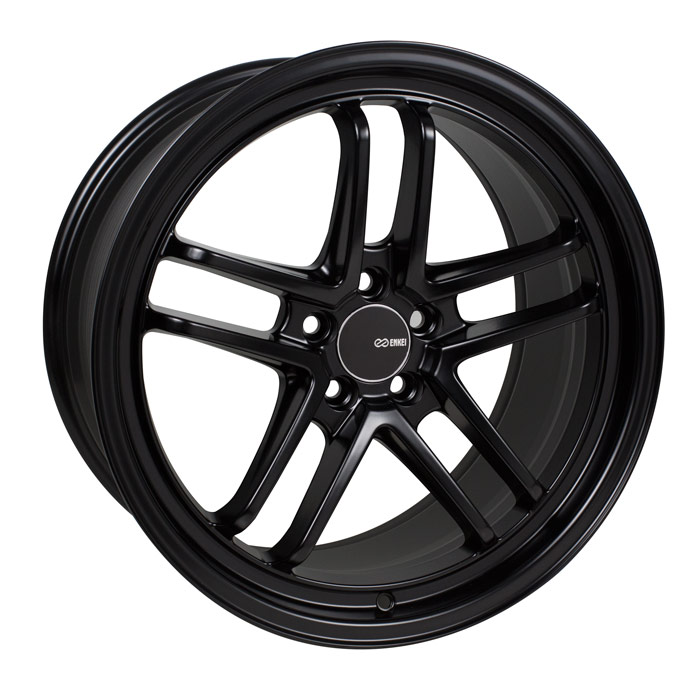 Enkei TSP5 Black Wheel: 18x9.5 +45