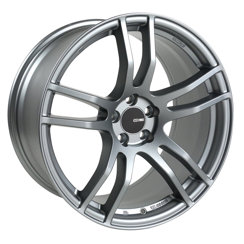 Enkei TX5 Platinum Grey Wheel: 18x8 +45