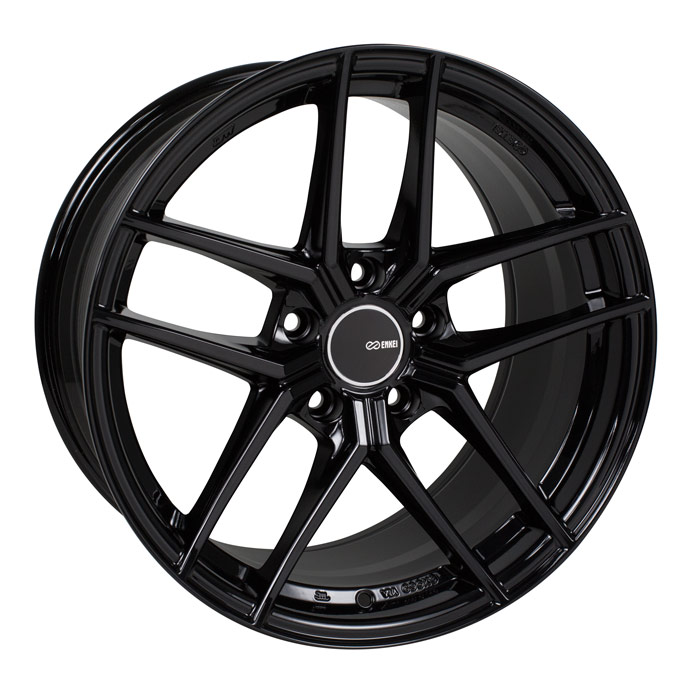 Enkei TY5 Black Wheel: 19x9.5 +35