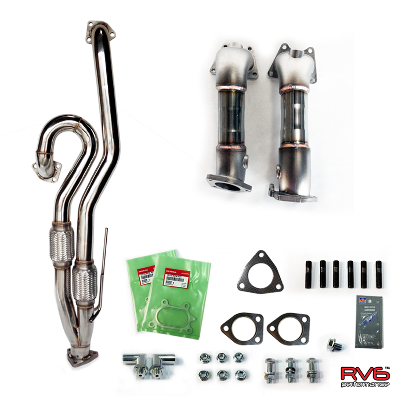 RV6 Permance 04-08 TL V3 Jpipe & PCDs (Precat Deletes)