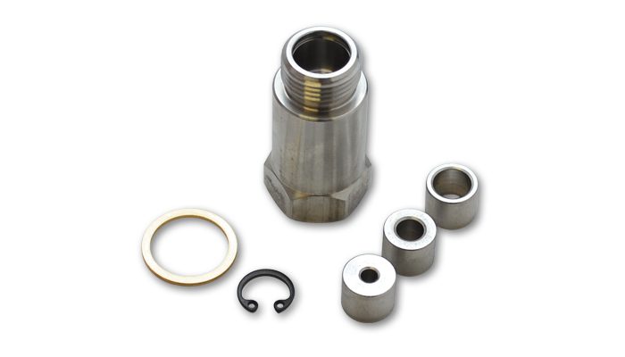 Vibrant Straight Oxygen Sensor Restrictor Fitting