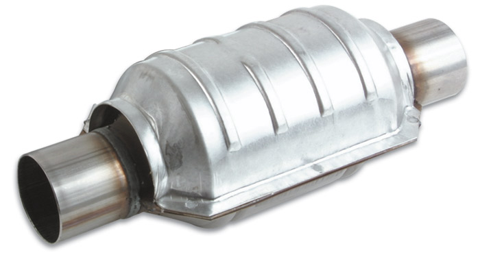 Vibrant Universal Ceramic Core Catalytic Converter: 3.0