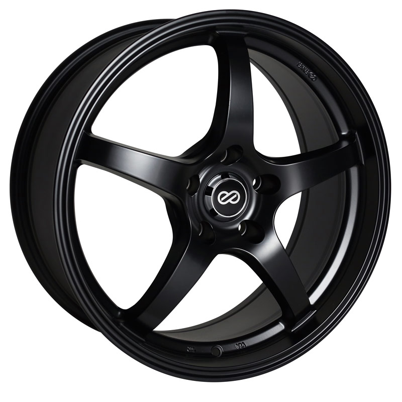 Enkei VR5 Black Wheel: 17x8 +50