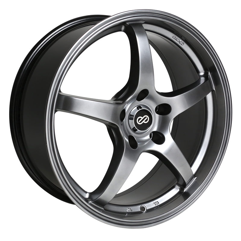 Enkei VR5 Hyper Black Wheel: 16x7 +38