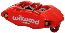 Wilwood 02-06 RSX Base / 02-05 Civic Si Forged DynaPro (DPHA)  Caliper: Red