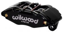 Wilwood 02-06 RSX Base / 02-05 Civic Si Forged DynaPro Honda/Acura (DPHA) Bolt On Caliper: Black