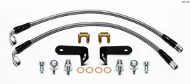 Wilwood 06-11 Civic Stainless Steel Brake Lines: Rear Big Brake Kit