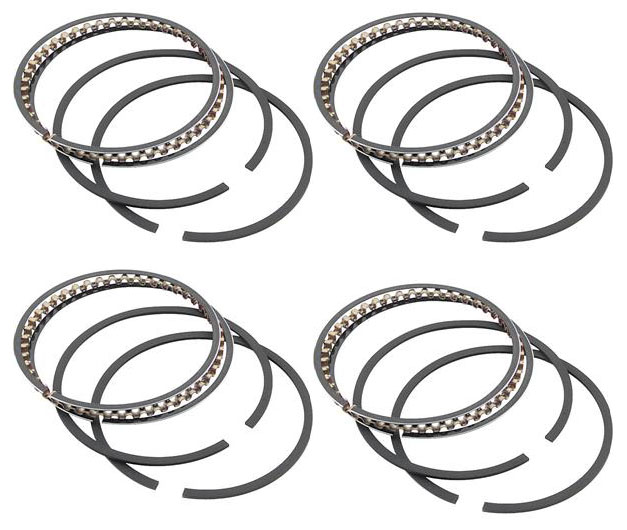 Wiseco 86.5mm Piston Rings: 4 Pack