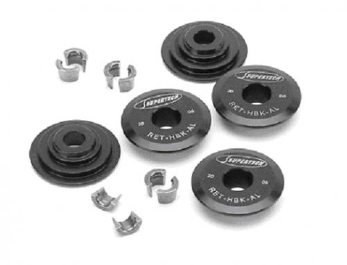 Supertech K Series Aluminum Retainers with Keepers-A1