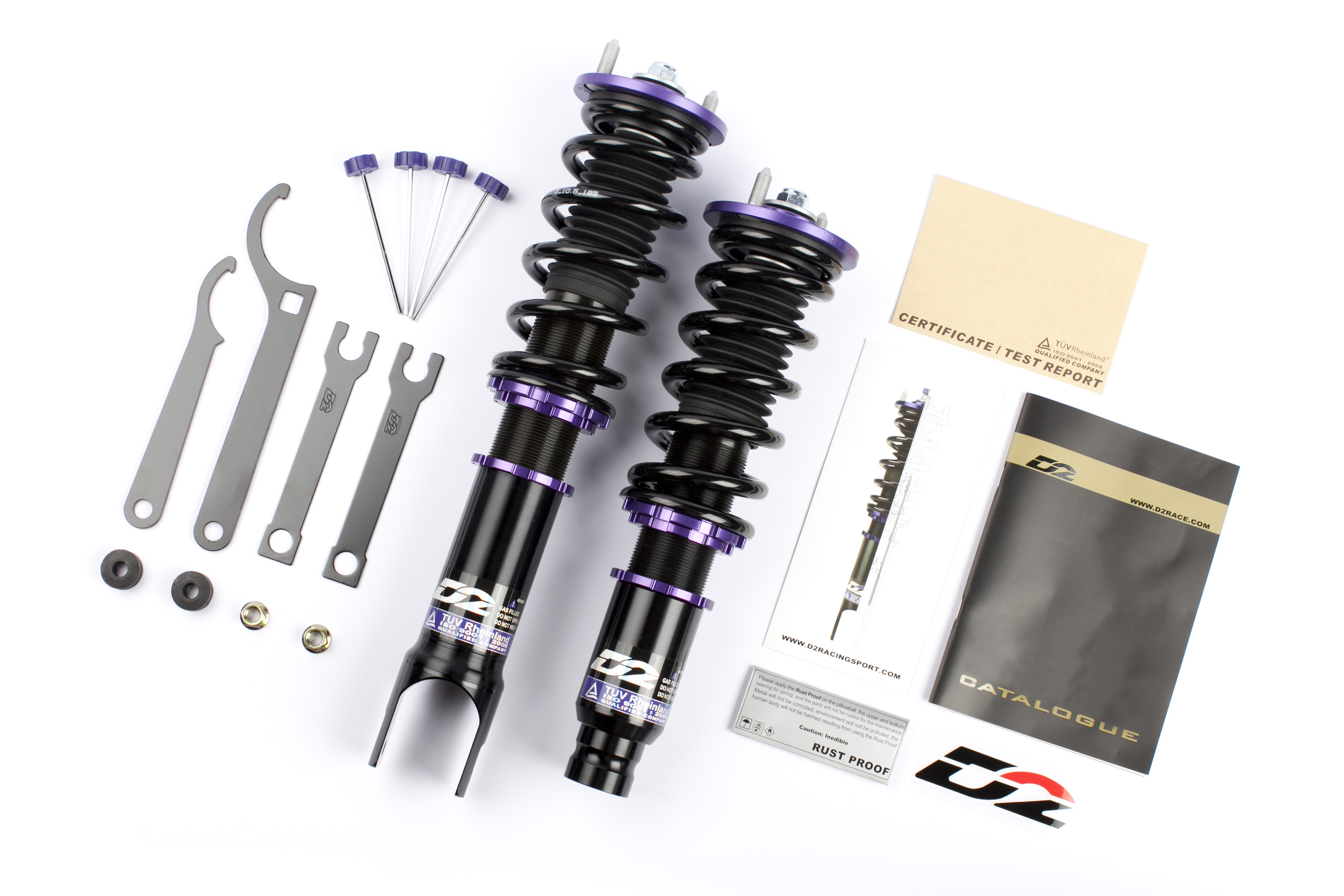 D2 Racing 94-01 Integra RS Series Coilovers